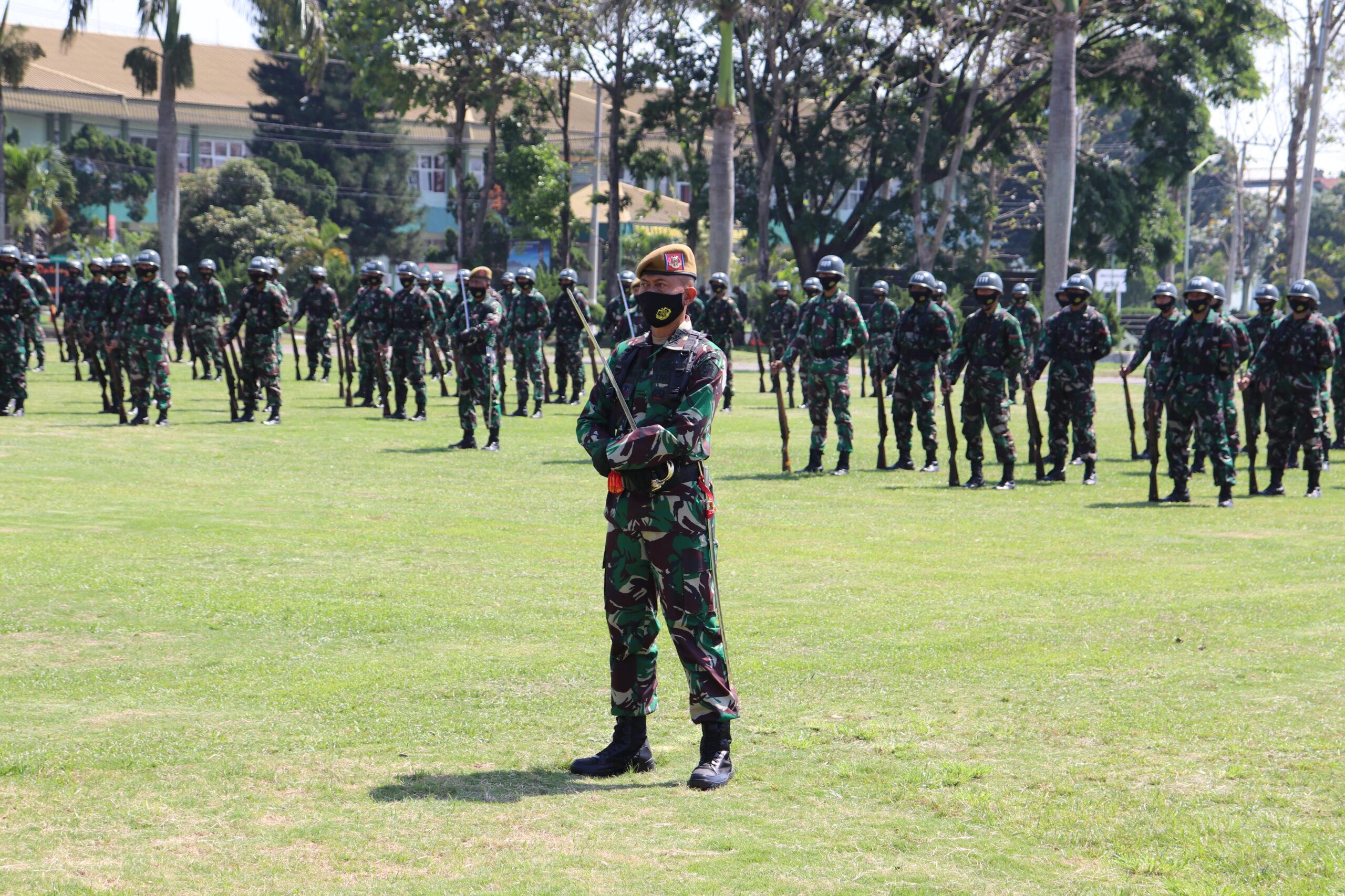 UPACARA PEMBUKAAN DIKJURTA ARHANUD ABIT DIKMATA TNI AD TA 2020