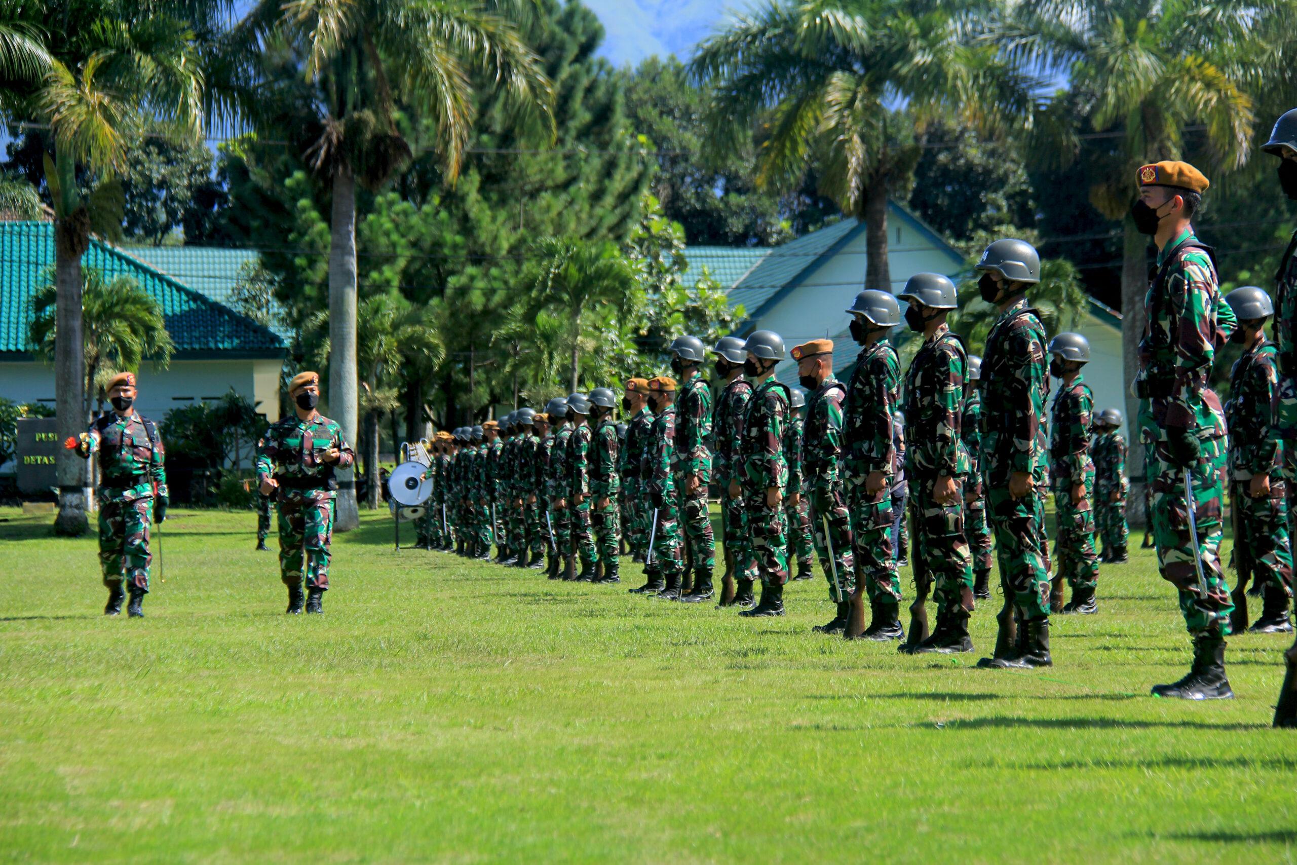 UPACARA PEMBUKAAN DIKJURBA ARHANUD ABIT DIKMABA TNI AD TA 2020 (OV)