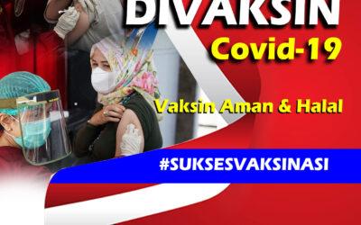 VAKSINASI COVID-19 BAGI KELUARGA BESAR PUSDIKARHANUD