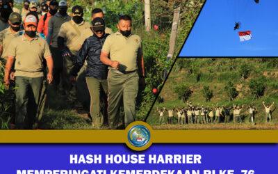 HASH HOUSE HARRIER MEMPERINGATI HARI KEMERDEKAAN  RI KE-76
